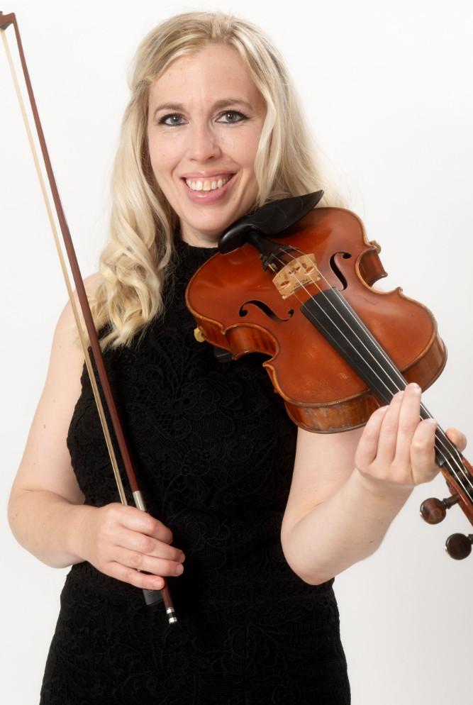 wedding violinist in somerset